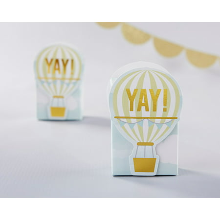 Hot Air Balloon Favor Box (Set of 12) - Toy Hot Air Balloon