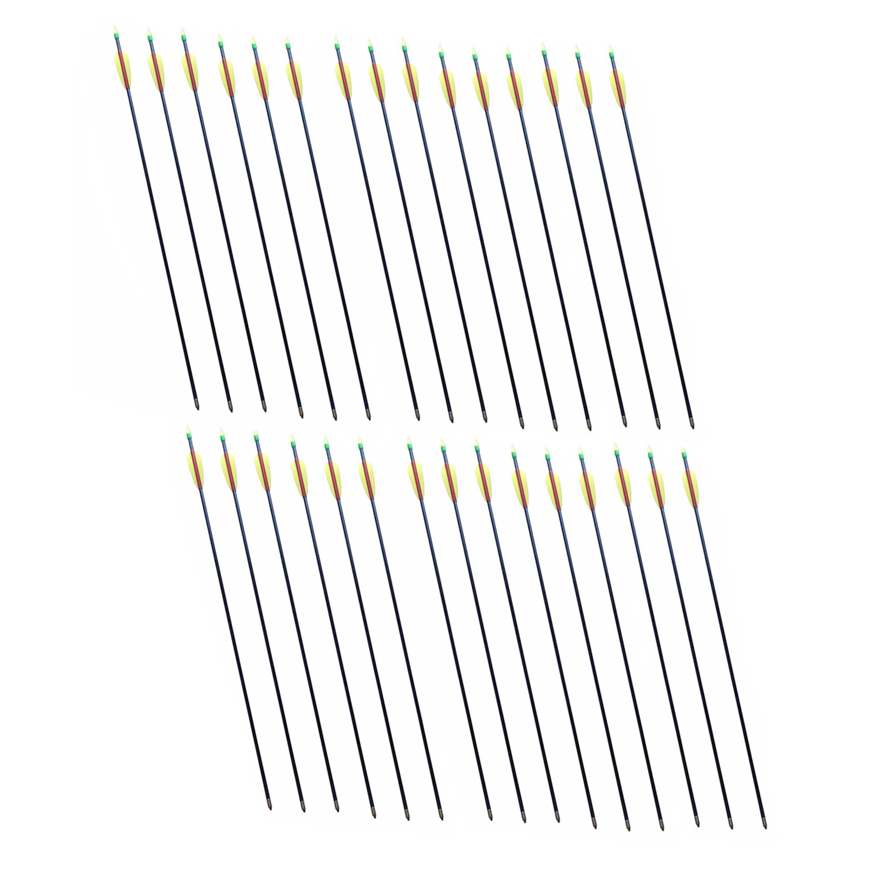 SA Sports Youth 28-In Fiberglass Archery Arrows (30-Pack)...