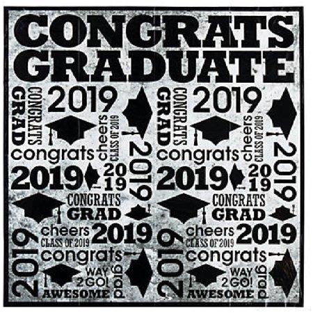 2019 Congrats Graduate Backdrop](Backdrop Express)
