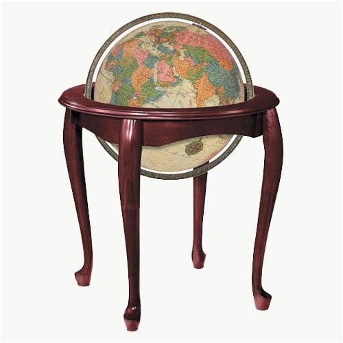 Replogle Globes Queen Anne Floor Globe