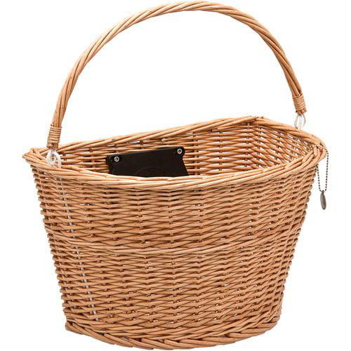 Bell Wicker Basket Tote 700