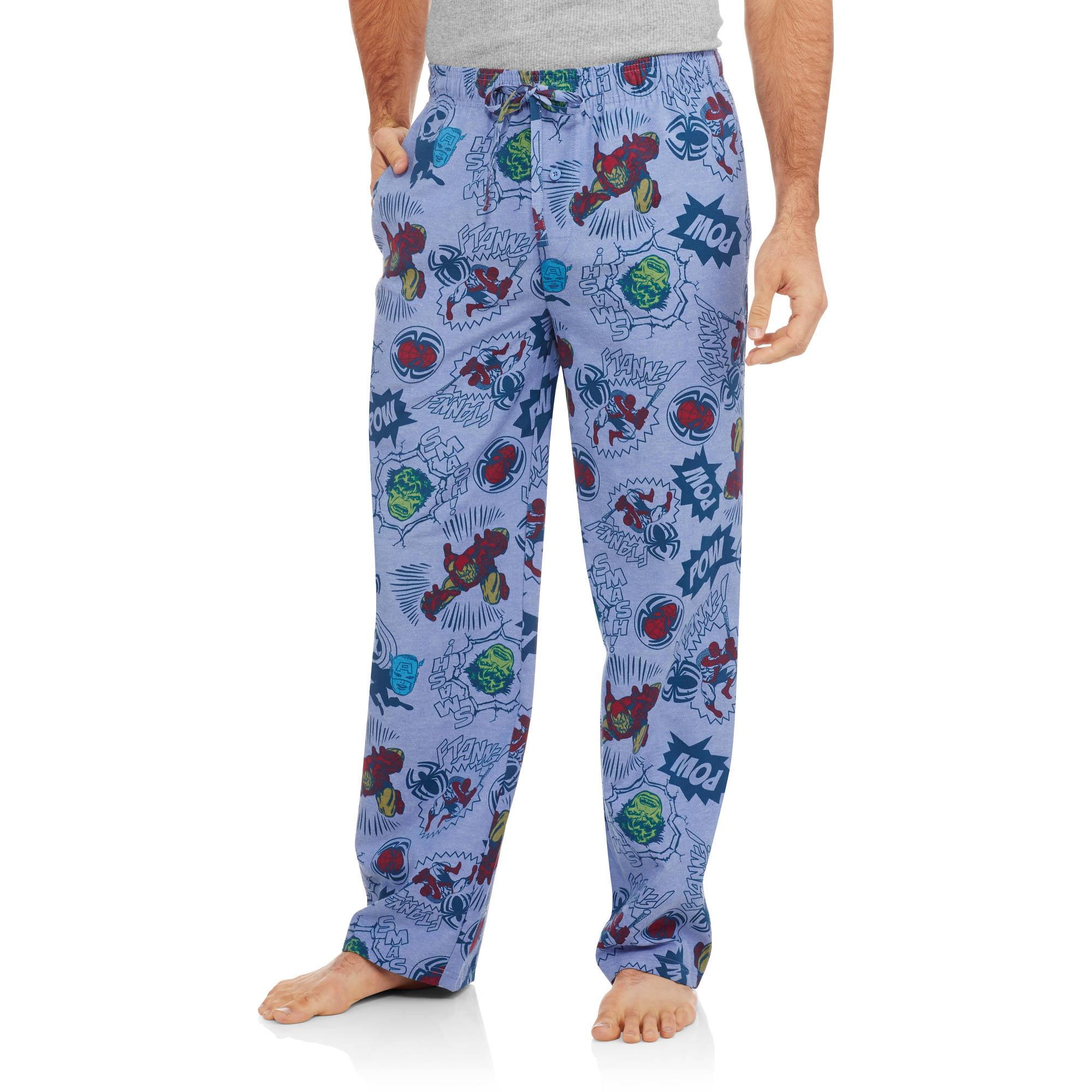 Marvel Superheroes Comic Book Men's Sleep Pants
