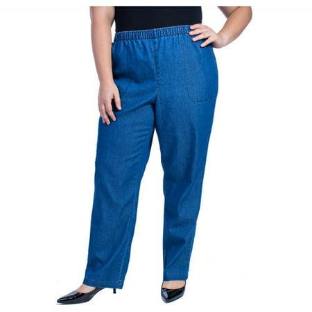 b1263ae9eacf7 White Stag - Women s Plus-Size Classic Pull-On Pants - Walmart.com