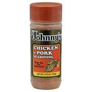 Johnny's Chicken and Pork Seasoning, 4.75 oz