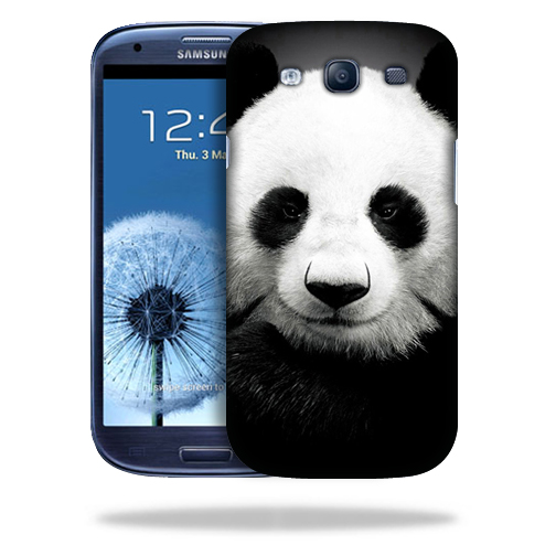 MightySkins Snap-On Protective Hard Case Cover for Samsung Galaxy S3 Panda