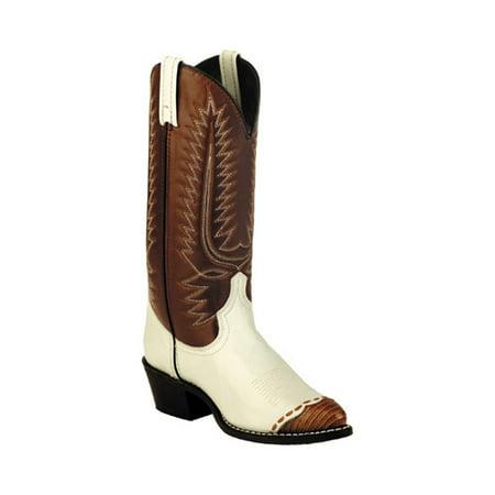 803964609a1 Men's Classic Cowboy Lizard Wingtip 13