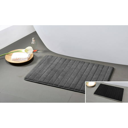 "Fred Reversible Memory Foam 20X30"" Bath Mat"