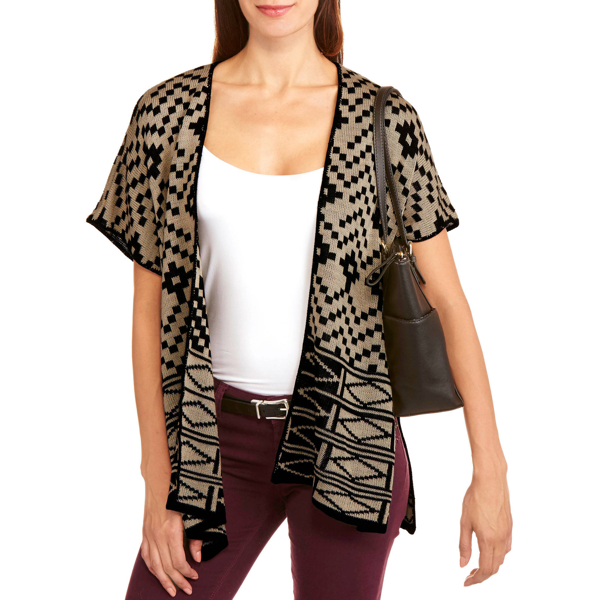 Allison Brittney Women's Blanket Aztec Poncho
