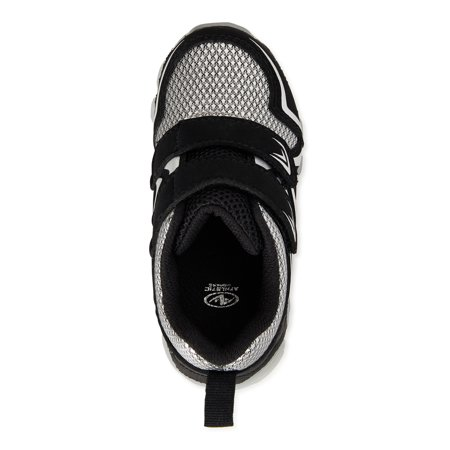 Athletic Works Two Strapped Jogger Athletic Sneaker (Toddler Boys)