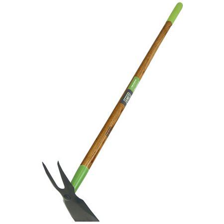 Beet Hoe (Ames 2-Prong Wood Handle Weeder)