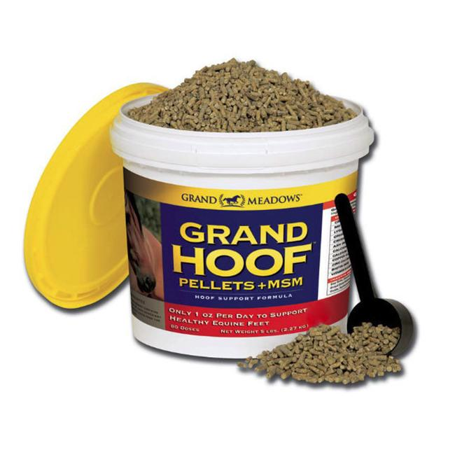 Grand Meadows 73607080502 Grand Hoof Pellets Plus MSM - 5 lb