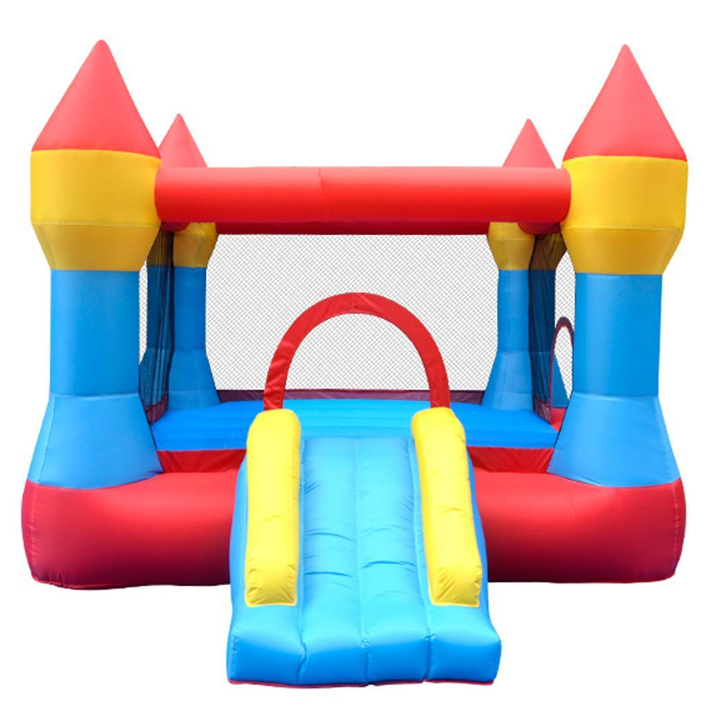 Black Friday Big Sale!Inflatable Mighty Bounce House Cast...