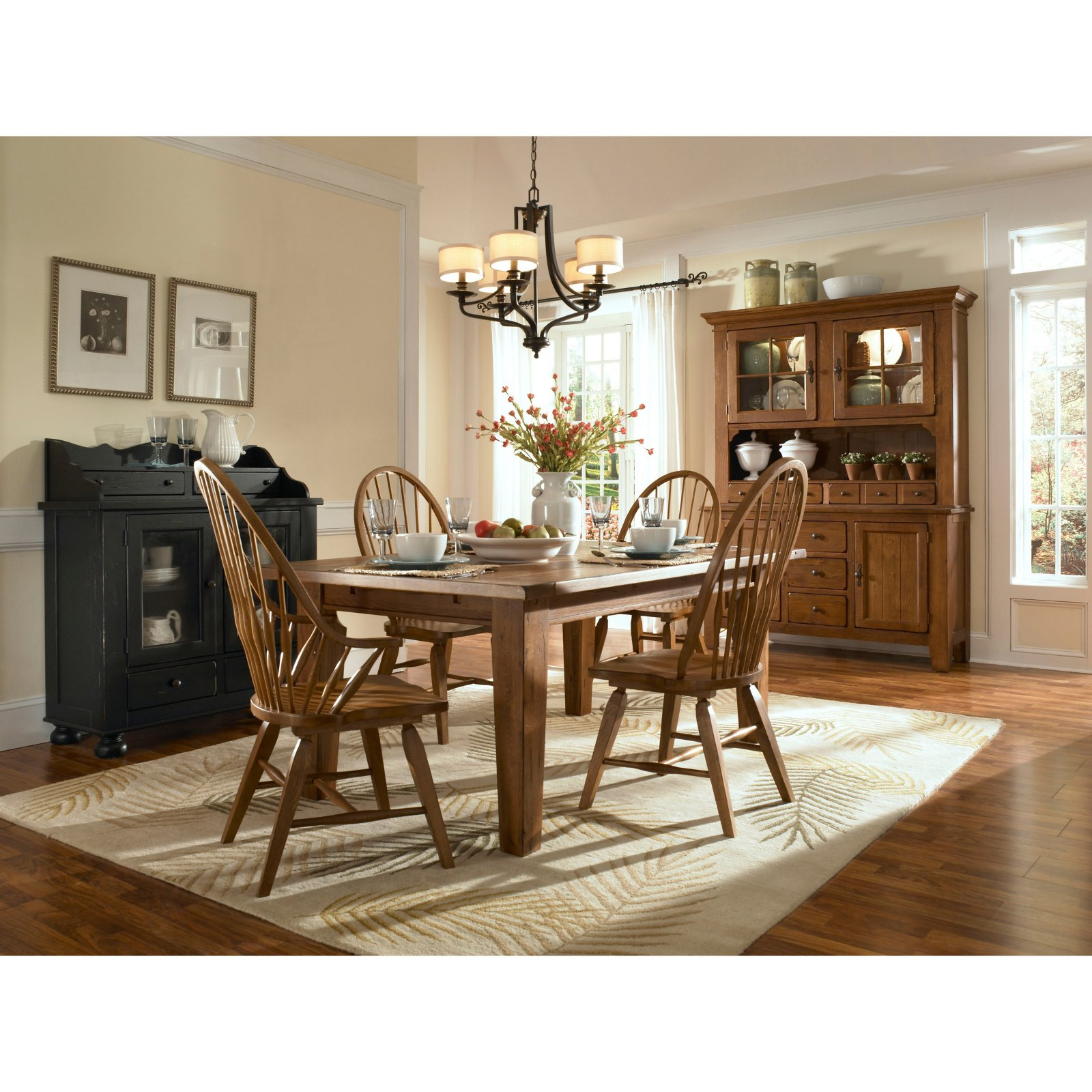 Broyhill Attic Heirlooms 72 In Rectangular Dining Table With Extension Walmart Com Walmart Com