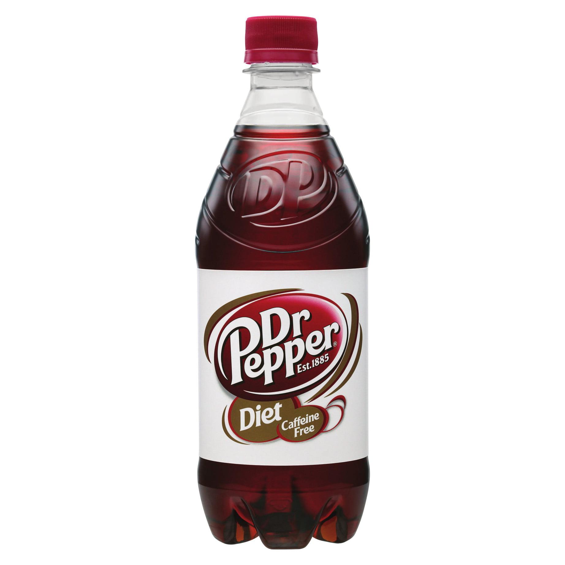 Caffeine Free Diet Dr Pepper, 20 Fl Oz