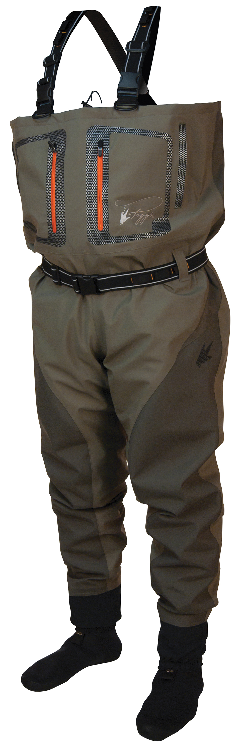 Click here to buy Pilot II Breathable Stockingfoot Chest Wader by Frogg Toggs.