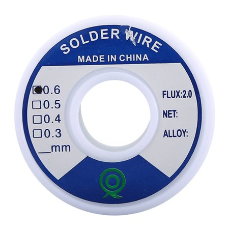 Tin Lead Rosin Core Solder 0.8Mm/0.6Mm/1.0Mm 100G/50G Flux Reel Welding Line - image 1 of 9
