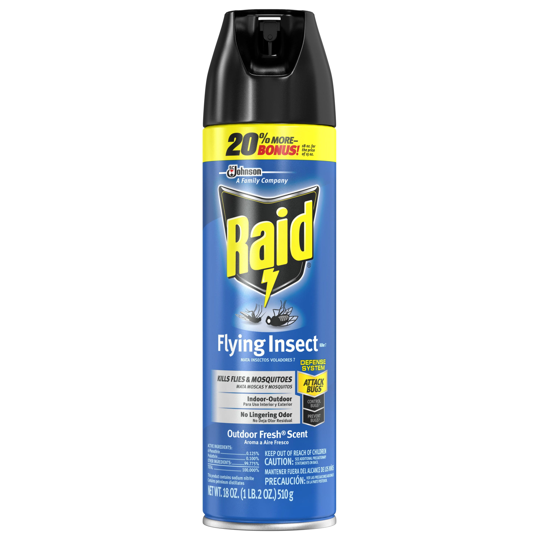 Raid Flying Insect Killer, 18 oz - Walmart.com