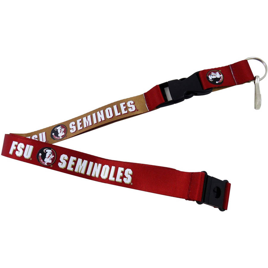 NCAA Florida State Seminoles  Reversible Lanyard
