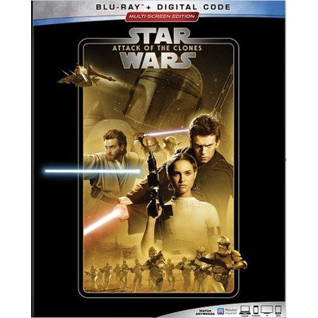 Star Wars: Episode II: Attack of the Clones (Blu-ray + Digital