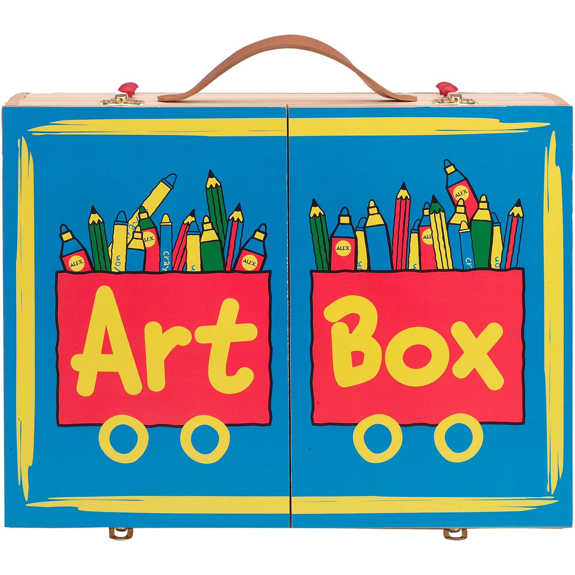 ALEX Toys Artist Studio Art Box, 108 Pieces by Alex Brands