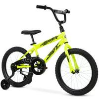 Huffy 18-Inch Rock It Boys Bike, Neon Powder Yellow