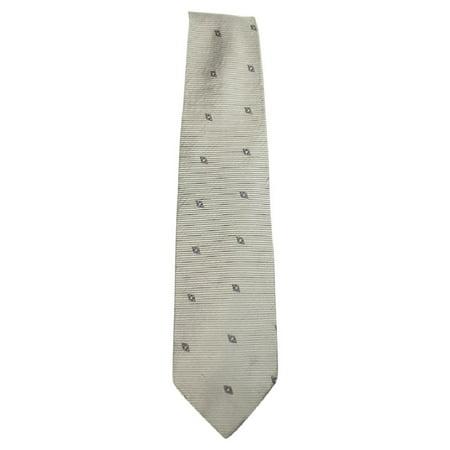 Ermenegildo Zegna Diamond Patterned Silk Tie EZTTY23 Diamond Patterned Silk Tie