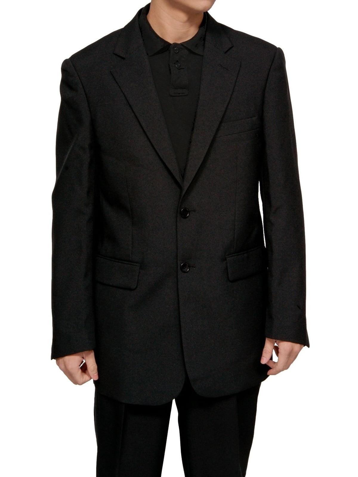 Mens Black Dress Suit - Includes Jacket & Pants
