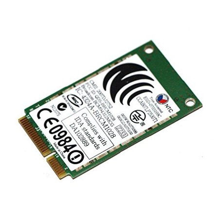 BroadCom BCM94312MCG DW1395 Mini PCI-Express PCIe Wireless WLAN Wifi Card  802 11 ABG for Dell JR356 WX781 -Refurbished