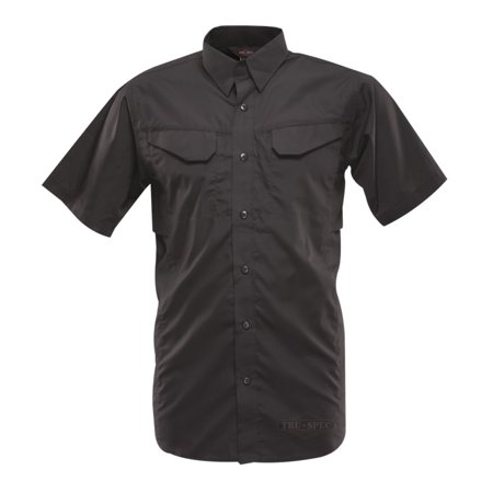 Tru-Spec 24-7 Series Ultralight Short Sleeve Field Shirts Black 2X-Large