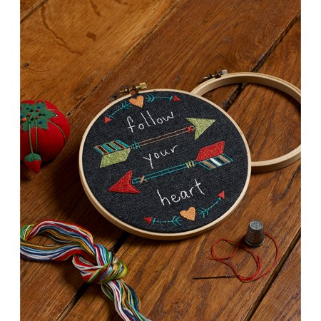 Bucilla Stamped Embroidery Kit 6 Round 6 Round Walmart