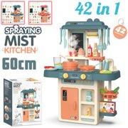 Best Kids Kitchens - 42 PCS Kitchen Playset Play Children Kids Plastic Review