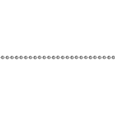 St. Nick s Choice 15  Metallic Celestial Silver Beaded Artificial Christmas  Garland - Walmart.com 6f350c7bc