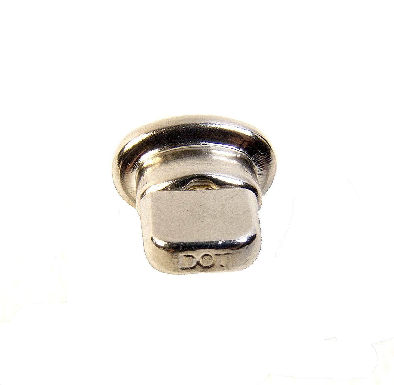DOT Twist Lock Barrel Stud w//Backing Plate Common Sense Eyelet /& Heavy Duty Clinch Plate 1 Piece Set