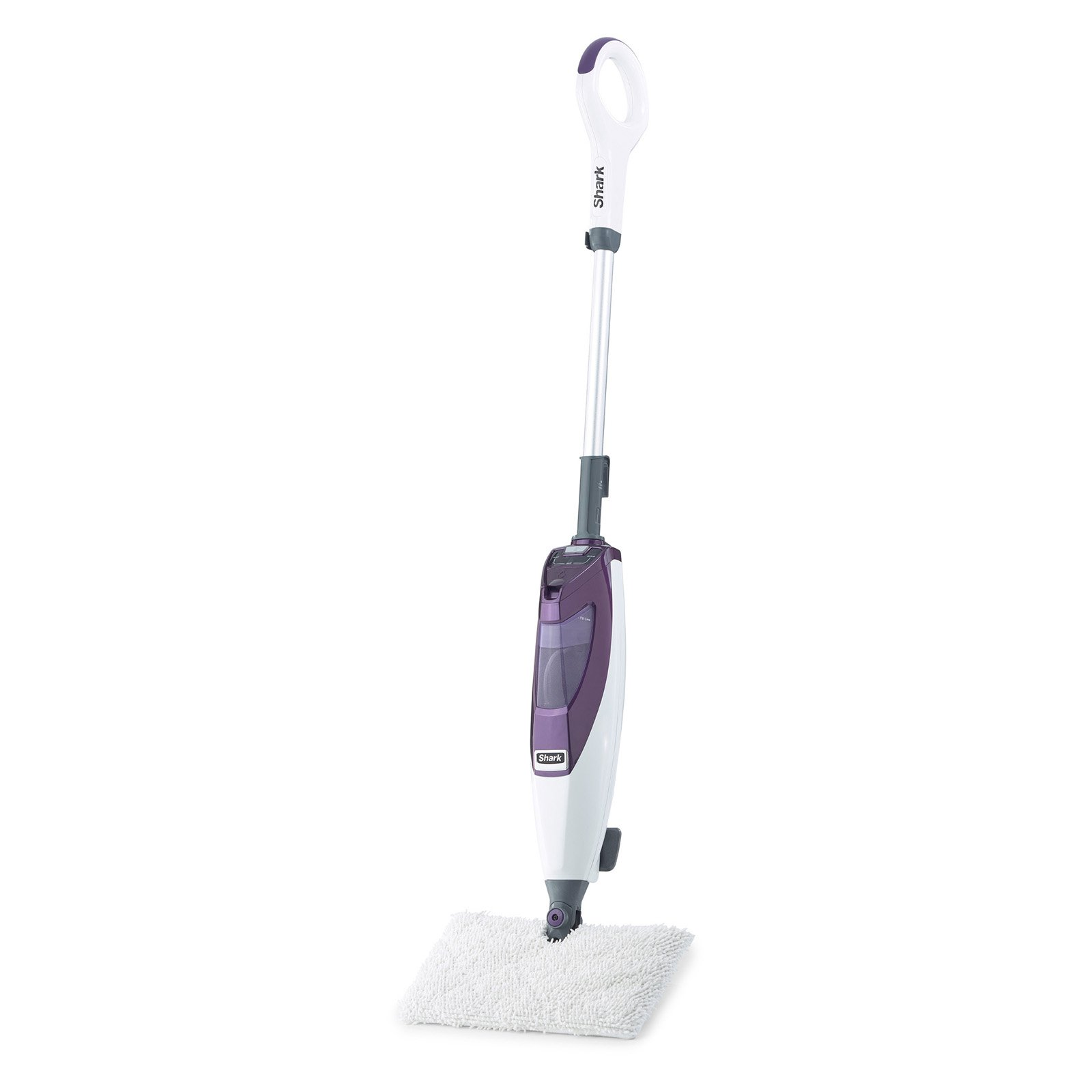 Shark Shark Blast and Scrub Steam Pocket Mop, White/Purpl...
