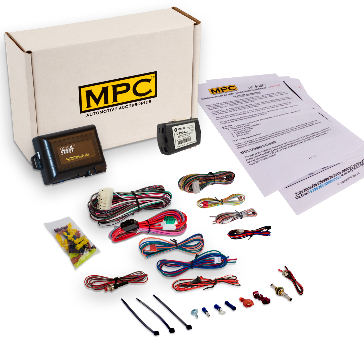 MPC Add-On Remote Auto Start Kit For Hyundai 2013-2016 Sa...