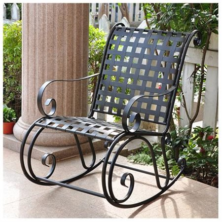 - Wrought Iron Rocker