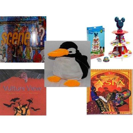 e8f82752774 Children s Gift Bundle  5 Piece  - Scene It  DVD - Disney Channel Edition