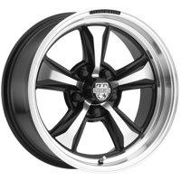 "20"" Inch Centerline 635MB MM6 20x9 5x114.3 +38mm Black/Machined Wheel Rim"