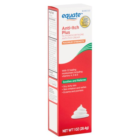 Equate Maximum Strength Anti-Itch Plus, 1 oz