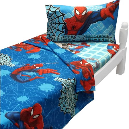 Jay Franco And Sons 12440817 Ultimate Spider Man Twin Sheet Set Marvel Bedding