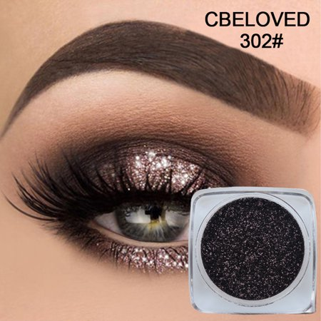 Jeobest Glitter Eyeshadow Powder Pigment - Eyeshadow Pigment Powder - Makeup Eyeshadow Powder - Make Up Eyeshadow Shimmer Monochrome Eyeshadow Makeup Eye Shadow Palette MZ
