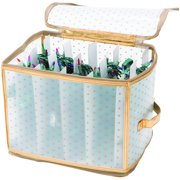 Simplify Christmas Holiday Lights Storage Organizer, Gold