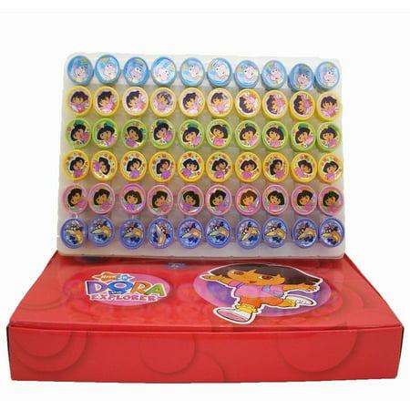 60 PCS Dora The Explorer Self-inking Stamp Birthday Party Favors Stampers](Dora Birthday Party)