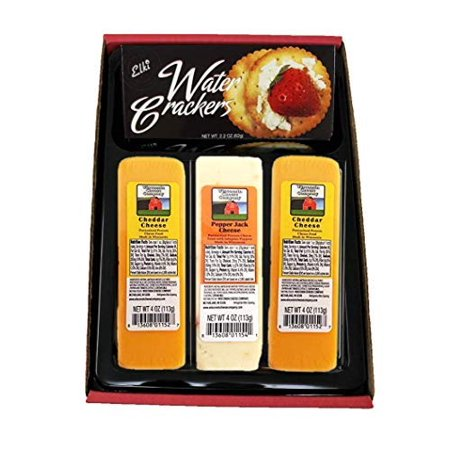 Wisconsin Cheese & Crackers Snacker Gift Basket
