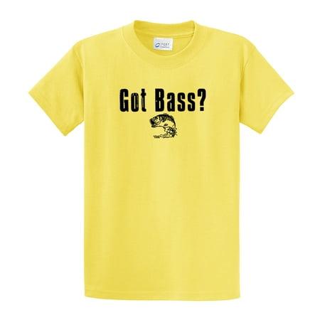 - Fishing T-Shirt Got Bass? Fish Tee