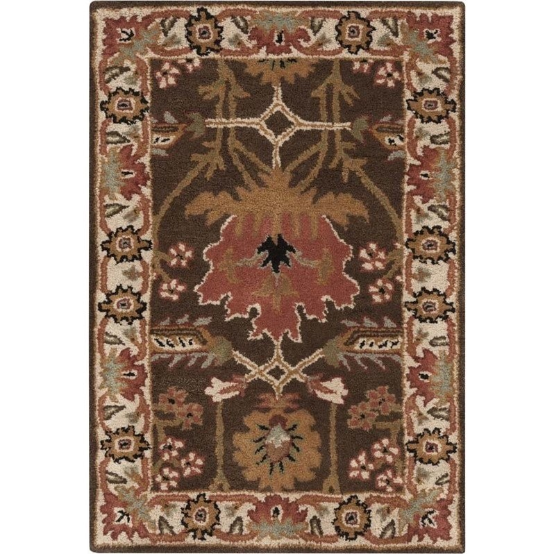 Surya Aurora Golden Brown Rug