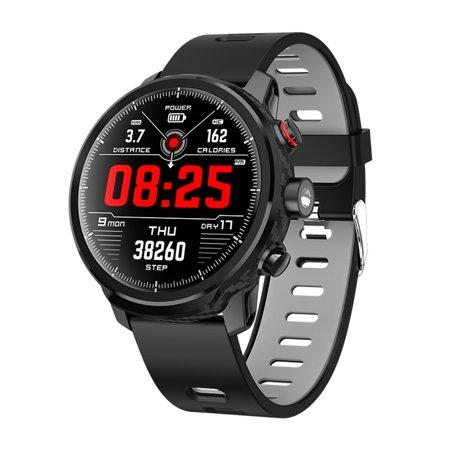 L5 Smart Watch Sport Track Heart Rate Blood Pressure Sleep Monitor Smart Bracelet IP68 Waterproof Fitness