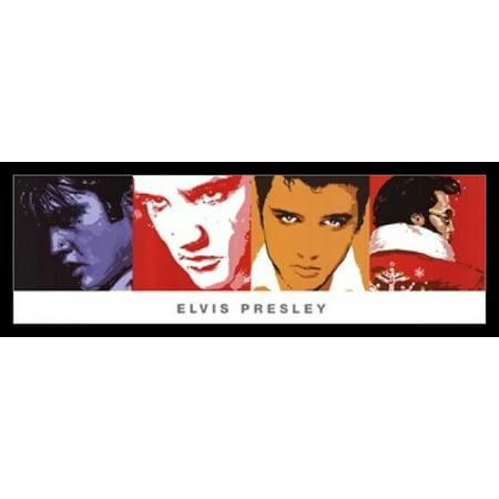Elvis Presley - Quad - Slim Print Poster Poster Print