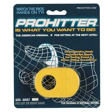 Prohitter-Color:Yellow,Size:Adult