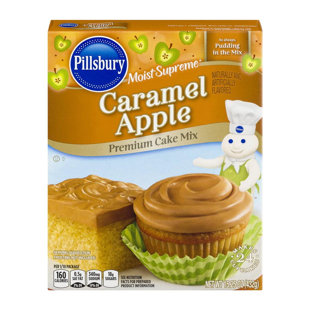 Pillsbury Moist Supreme Caramel Apple Premium Cake Mix, 15.25 OZ by The J.M. Smucker Company